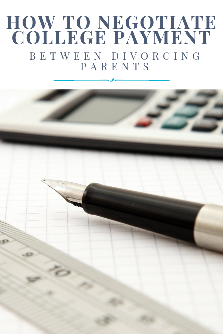 How to Negotiate College Payment between Divorcing Parents