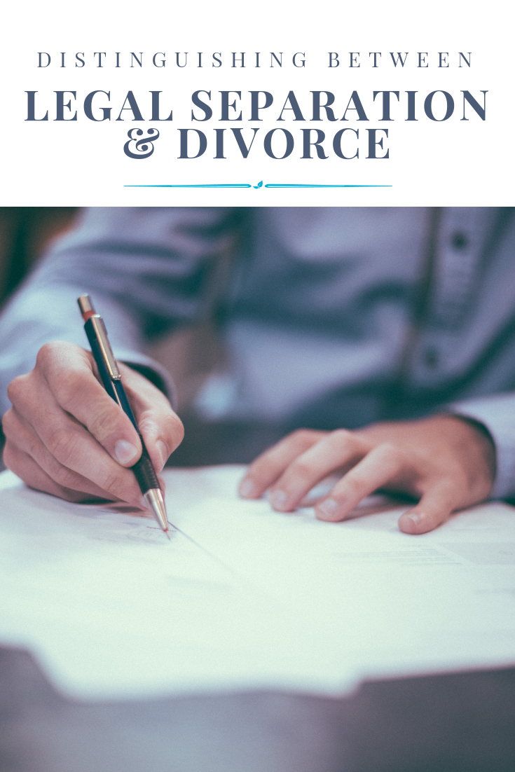 Distinguishing Between Legal Separation & Divorce