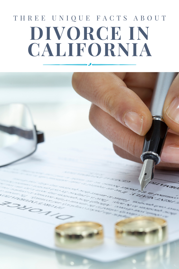 Three Unique Facts About Divorce in California